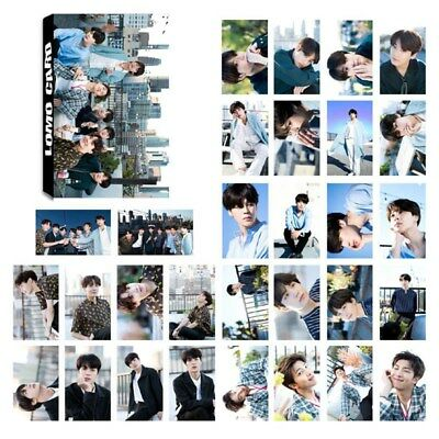 30pcs/set Kpop BTS Lomo Cards Bangtan Boys SUGA JIMIN V Mini Photo Poster Cards