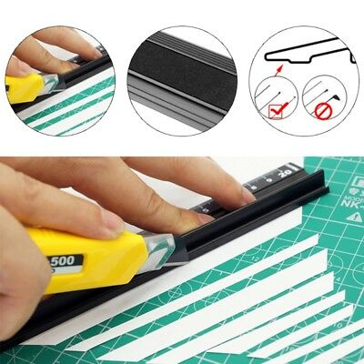 Aluminum Alloy Multifunctional Straight Ruler Protection Anti Slip Drawing Tool