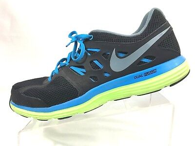 new collection premium selection discount shop NIKE DUAL FUSION Lite Black Mens 599513-003 Running Training ...