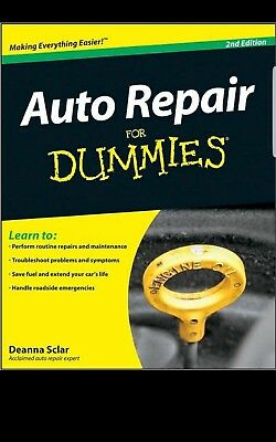 Auto Repair For Dummies, 2nd Edition, PDF Book