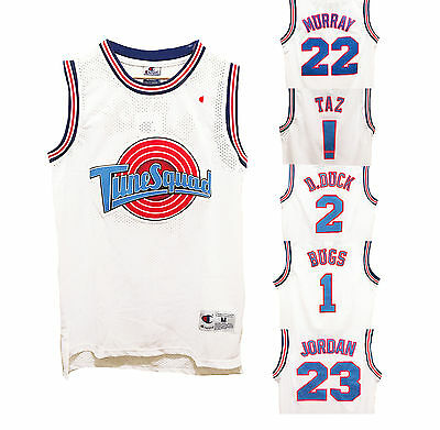 Space Jam Tune Squad Bunny Bugs Tune Movie Jersey Basketball Sports Top Shorts