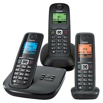 Gigaset A510A Cordless Phones TRIPLE BUSINESS KIT (AUST STK)