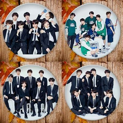 Kpop BTS Bangtan Boys All Members Badge Brooch Chest Pin Clothes Accessories New