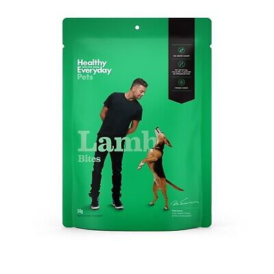 Healthy Everyday Pets by Pete Evans Grain Free Treats for Cats & Dogs - Lamb Bit