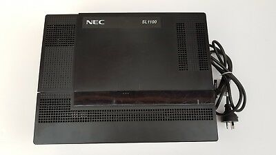 NEC SL1100 main board, PSU & ISDN card,12 months w/ty. Tax invoice
