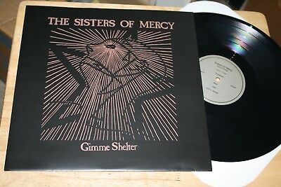 Sisters Of Mercy - Gimme Shelter - Rare Arkain Filloux 2014 Goth Rock Vinyl