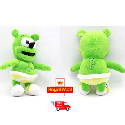 "Singing I AM A GUMMY BEAR Musical Gummibar Soft Plush Doll Toy 13"" Teddy UK New"