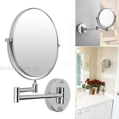 30Ccm 7X Magnifying Round Wall Mirror Two-Sided Wall Mounted Vanity Makeup OZ