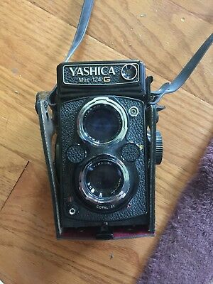 Yashica Mat-124 G 6×6 TLR Medium Format Film Camera - As Is - Un-Tested