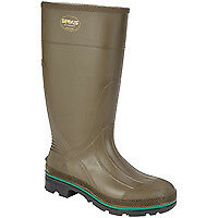 Servus Northerner 75120-9 Non-Insulated Knee Boot, NO 9, Men's, Olive Green, PVC