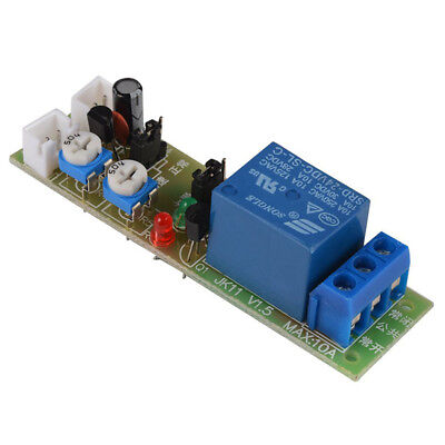 2X(DC 24V Infinite Loop Cycle Timer Delay Time Relay ON OFF Module 1S-15Mi P8H3)
