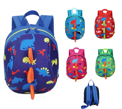 Toddler Kids Children Boy Girl Anti-lost Cartoon Animal Backpack School Bag