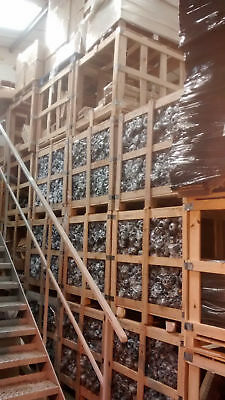 Wooden Crates Strong Racking pallet size cubes stackable