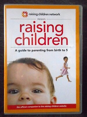 Raising Children Interactive DVD ROM 0 to 5 yrs Parenting Advice 5 hours