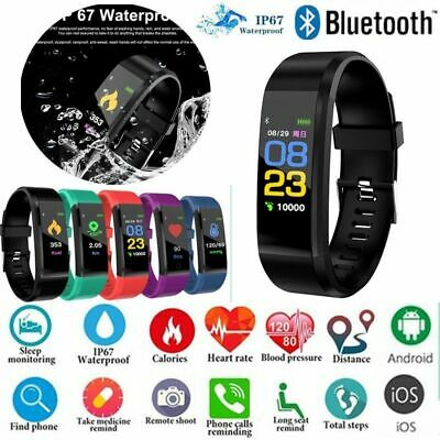 Smart band reloj inteligente ritmo cardiaco Armband pulsera para Android iPhone
