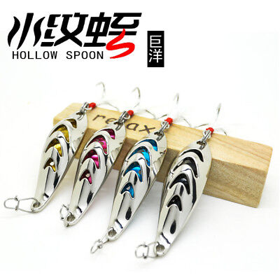 Juyang Hollow Spoon Zocker Top Zander Barsch & Forellen Juyang  GT-BIO Blinker