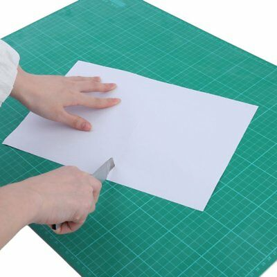 A2 Thick 5-Ply Self Healing Craft Cutting Mat 2-Side Print Quilting ~#QW