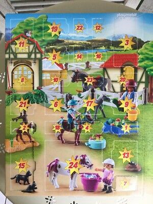 Playmobil Reiterhof Adventskalender 9262