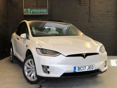2017 Tesla Model X 100d Fold-down rear seats, 5 seater with tow pack
