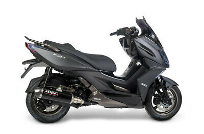 KYMCO K-XCT I ABS - Exhaust maxiscooter 4 stroke black carbon - Yasuni  (Pe)