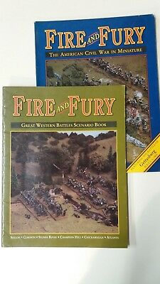 Fire and Fury ACW Rules & Great Western Battles Scenario Book