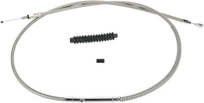 "Clutch cable stainless steel oversize +6""(152mm) - HARLEY DAVIDSON SOFTAIL HE..."