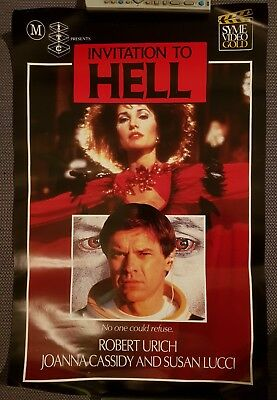 INVITATION TO HELL 80s Wes Craven HORROR Syme Video Poster VHS/Beta Memorabilia
