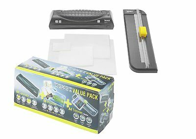 Texet A4 Laminator and Paper Trimmer Value Pack 748