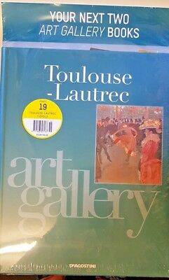 Art Gallery Artists Book Collection = # 19 = TOULOUSSE- LAUTREC + TIEPOLO