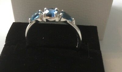 a19d3d027 Pandora Silver Ice Drops Ring Size 60 Brand New In Gift Box