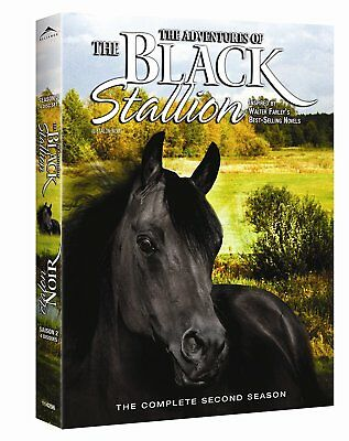 The Adventures of the Black Stallion: Second Season [DVD] New and Sealed!!