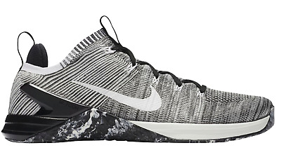 uk availability e30c0 254d6 NEW Nike Metcon DSX Flyknit 2 - 924423-045 Oreo Matte Silver Sail