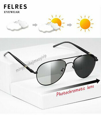 4b3a915521 HDCRAFTER Men Polarized Photochromic Sunglasses Transition Lens Driving  Glasses