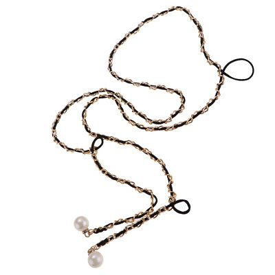 Gold Metal Pearl Ladies Waist Chain/Charm Belt - Fit all Style Clothes Dress