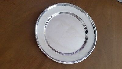"Antique Manchester Sterling Silver 6"" Plate 333 S"