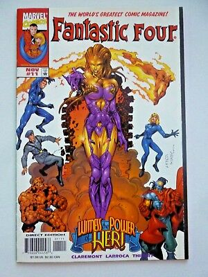 """Fantastic Four 11 1st Appearance of Ayesha """"Her"""" 1998 Marvel Comics 1998"""