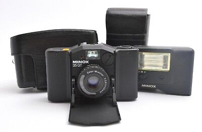 MINOX 35 GT Kompaktkamera, Color-Minotar 2,8 / 35 mm + Flash FC 35 + Case u14