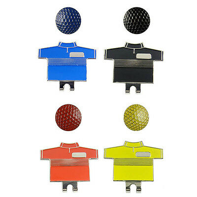 Multi-styles CardTricycleBall Magnetic Hat Clip Golf Marker On Golf Cap$