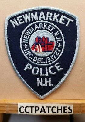 Newmarket, New Hampshire Police Shoulder Patch Nh