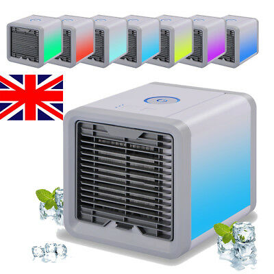 Mini Portable Air Cooler Humidifier Air Conditioner Arctic Desk Fan Home Office