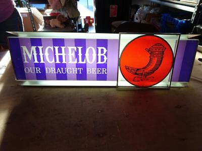 Vinatge 70's Michelob Our Draught Beer Retro Lighted Beer Sign.