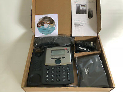 Cisco SPA303 3 Line IP Phone with Power Adapter / SPA303 / New in Open box