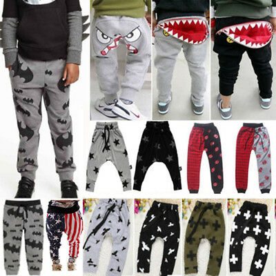 Newborn Boy Kids Girl Harem Pants PP Trousers Leggings Cotton Clothes Sweatpant