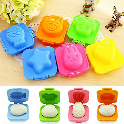 Boiled Egg Sushi Rice Mold Bento Maker Sandwich Cutter Kitchen Tools Durable