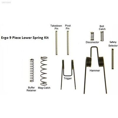Spring Kit Mechanical Spring Lower Parts Kit for AR15/M16/M4 Replacement 4571