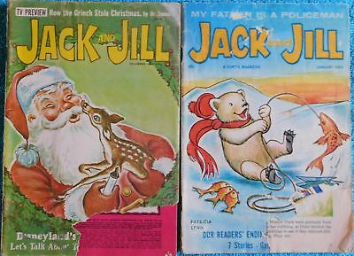 Lot of 2 Jack and Jill Magazines from 1964 & 1966