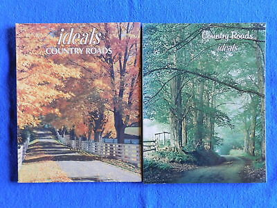 Lot of 2 Country Roads Issues of Ideals Magazine May 1974 & August 1985