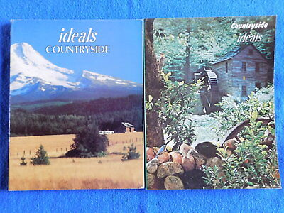 Lot of 2 Countryside Issues of Ideals Magazine July 1971 & June 1983