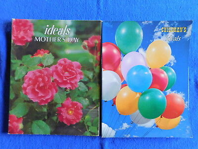 Lot of 2 Ideals Magazine: Children's July 1970 & Mother's Day Issue March 1984