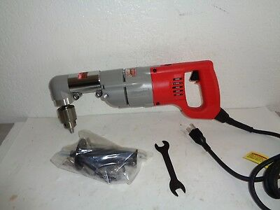 MILWAUKEE 7 Amp 1/2 in. Corded Right-Angle Drill {3107-6}